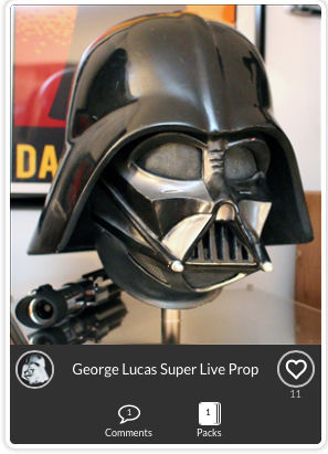Darth Vader Superlive Prop Mask
